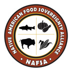 New logo of the new Native American Food Sovereignty Alliance (NAFSA) that has been formed by First Nations Development Institute to address food-system control, health, nutrition and economic development in American Indian, Alaska Native and Native Hawaiian communities.  (PRNewsFoto/First Nations Development Institute)