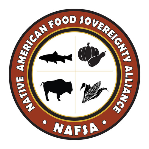 New logo of the new Native American Food Sovereignty Alliance (NAFSA) that has been formed by First Nations ...