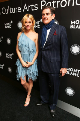 Sienna Miller and Peter M. Brant at Montblanc de la Culture