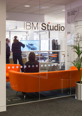 Entrance IBM Studio London