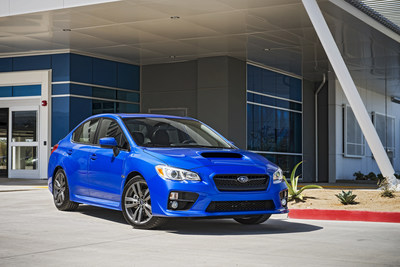 2016 Subaru WRX Earns IIHS 2015 Top Safety Pick+ Award