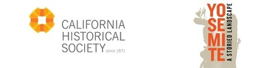 California Historical Society and Yosemite: A Storied Landscape logos (PRNewsFoto/California Historical Society)