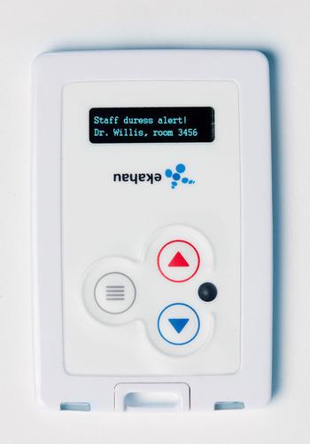 Beaumont Health System in Royal Oak, Michigan uses Ekahau RTLS (RFID-over-Wi-Fi(TM)) solution for staff safety.  ...