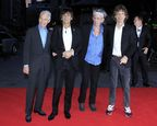 "The Rolling Stones attend the premiere of ""Crossfire Hurricane"" during the 56th BFI London Film Festival at Odeon Leicester Square on October 18th, 2012. Photo by Invision."