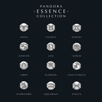 PANDORA ESSENCE COLLECTION Explores the Celestial World with the Twelve Star Signs (PRNewsFoto/PANDORA Jewelry)