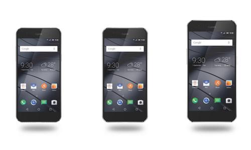 New Gigaset smartphone line (from left): Gigaset ME Pure, Gigaset ME, Gigaset ME Pro. Photo credit: Gigaset (PRNewsFoto/Gigaset AG) (PRNewsFoto/Gigaset AG)