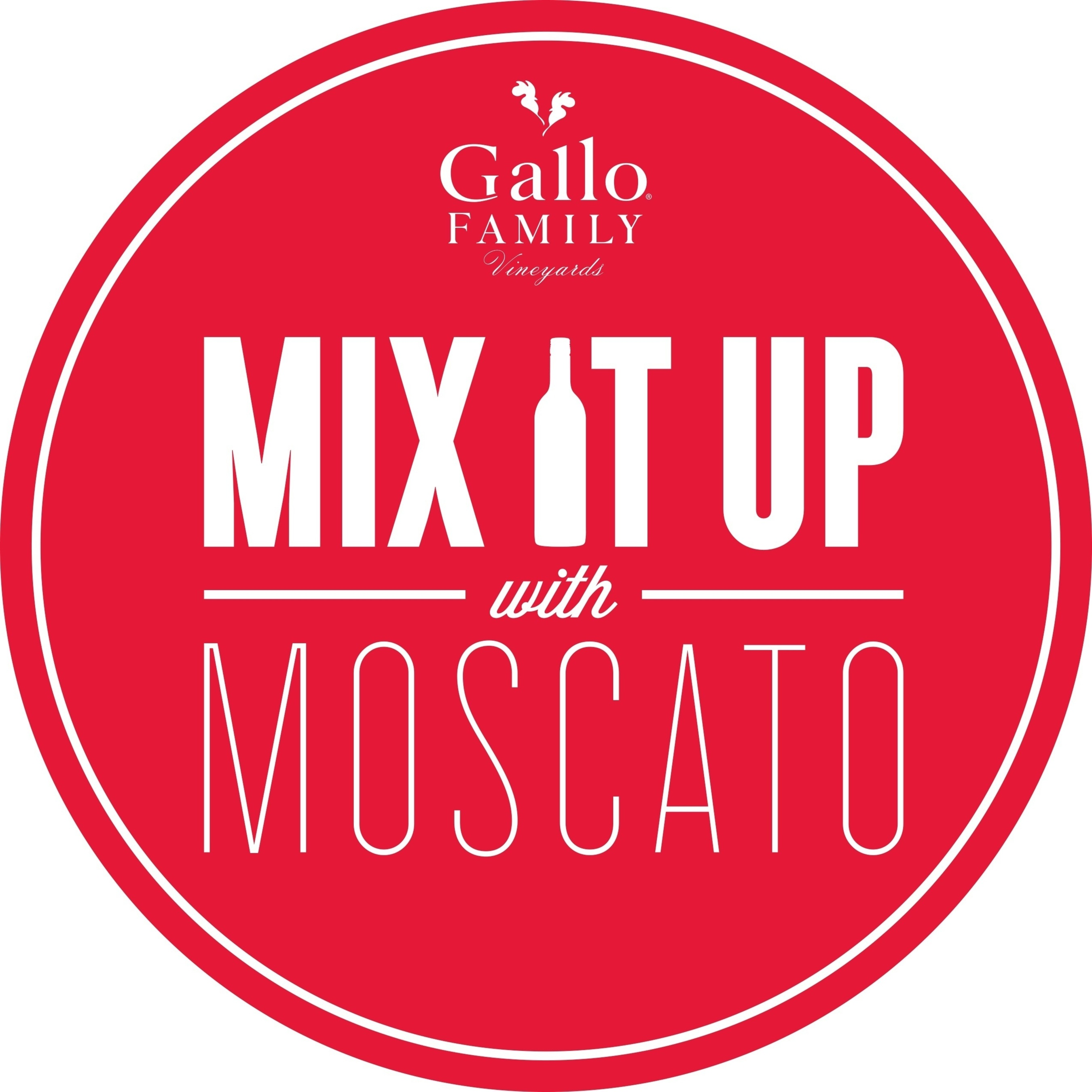 Gallo Family Vineyards Invites Americans to Mix It Up With Moscato This Year (PRNewsFoto/Gallo Family Vineyards)