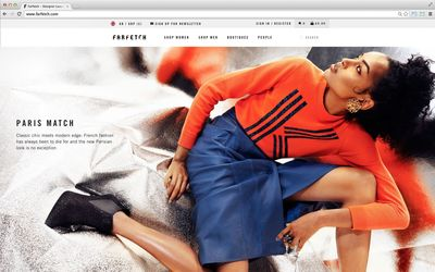 Global E-Commerce Site Farfetch Raises $66m Led by Vitruvian Partners, Including Investment From Condé Nast International and Advent Ventures (PRNewsFoto/Farfetch)