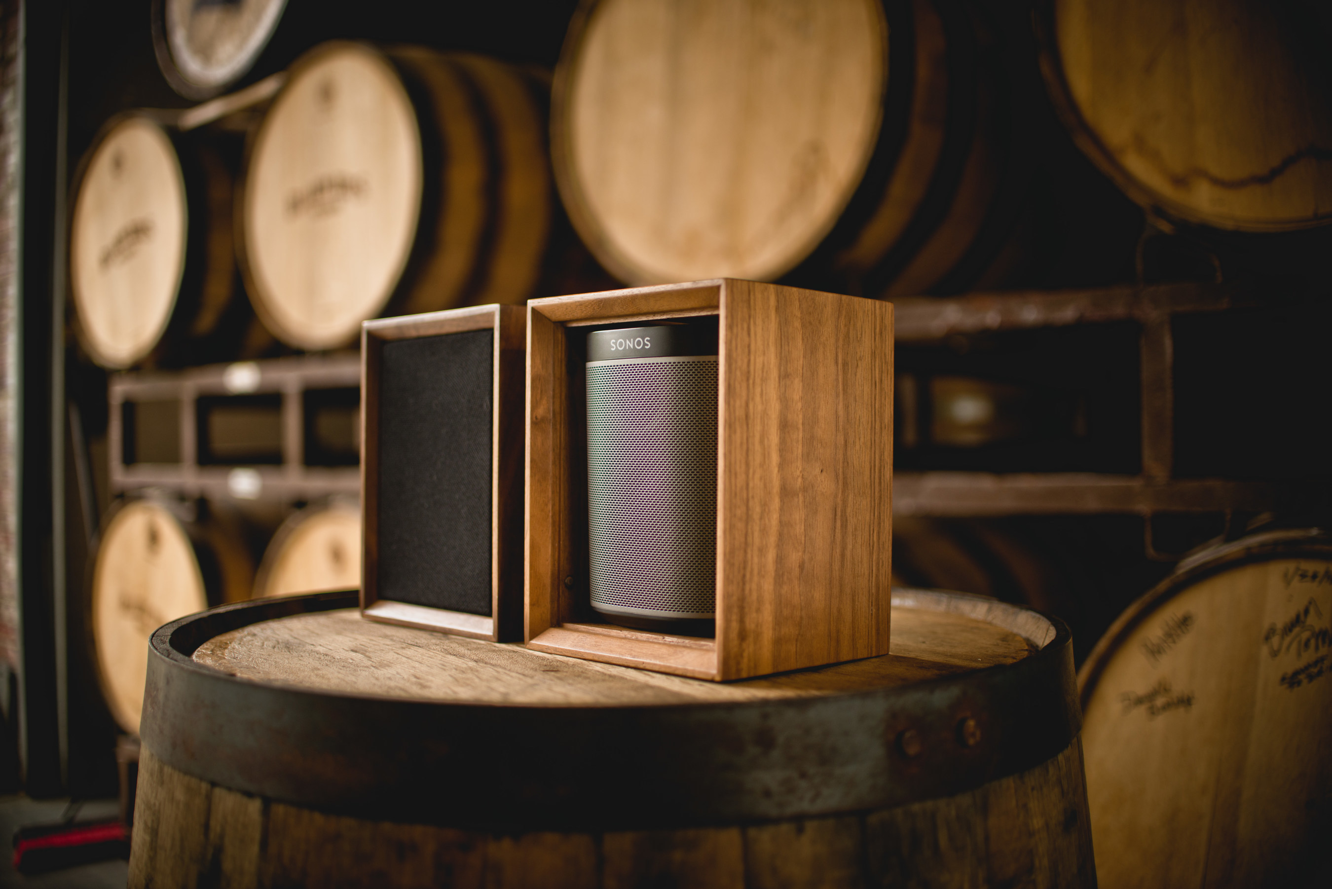 Leon Speakers Tonecase Hardwood Cabinet - TC1S