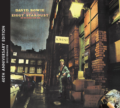 David Bowie's 'The Rise and Fall of Ziggy Stardust and The Spiders From Mars' (40th Anniversary Edition) Released Today