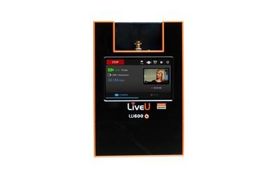 LiveU's new LU600 portable transmission unit.