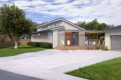 Blu(R) Homes Releases a Newly Updated Element Design.  (PRNewsFoto/Blu Homes, Inc.)