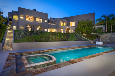 The contemporary mansion within the exclusive Rancho Farms Estates community in Rancho Santa Fe, California will be sold at auction on October 17, 2015. Previously asking $9 million, the property will now sell to the highest bidder at or above a bid of only $3.5 million. Platinum Luxury Auctions is managing the sale in cooperation with brokerage Pacific Sotheby's International Realty. Details at RanchoFarmsLuxuryAuction.com.