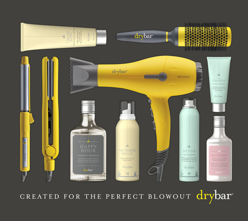 A selection of Drybar products and tools.  (PRNewsFoto/Drybar)