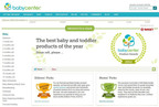 First BabyCenter Product Award Winners and new Products & Gear Channel announced.  (PRNewsFoto/BabyCenter(R) LLC)