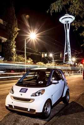 car2go Arrives in Seattle, Washington.  (PRNewsFoto/car2go North America, LLC)