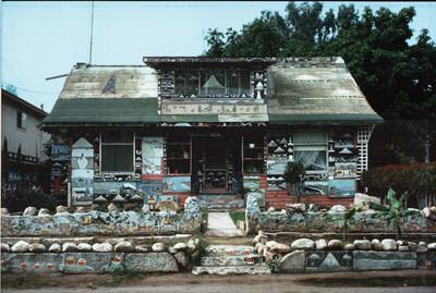 Sanford Darling, House of 1000 Paintings (Santa Barbara, CA). Photo: John Turner, 1975.