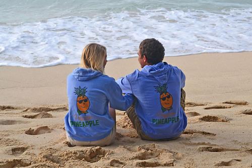 The Prepster Pineapple Sweatshirt. (PRNewsFoto/Prepster Pineapple Clothing) (PRNewsFoto/PREPSTER PINEAPPLE CLOTHING)