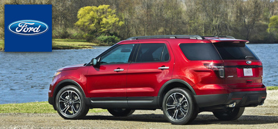 2014 Ford Explorer Myrtle Beach, SC (PRNewsFoto/Beach Ford)