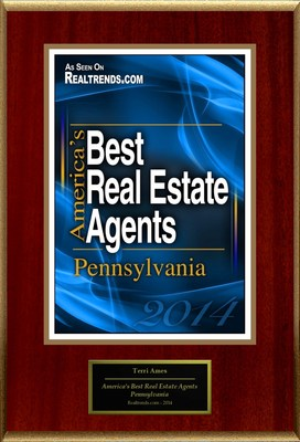 "Terri Ames, Coldwell Banker Town & Country Properties Selected For ""America's Best Real Estate Agents: Pennsylvania"""