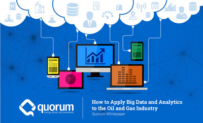Oil and gas companies can achieve connected energy intelligence by adopting and applying digital technologies. Data can prevent huge losses in production by removing operational silos, reducing downtime, eliminating errors, and minimizing risk.Read the latest whitepaper from Quorum to learn how to apply big data and advanced analytics across every segment of the oil and gas industry. Get your free copy today by visiting qbsol.com