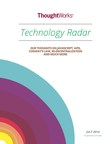 The newest edition of Technology Radar is out. Get your copy at thoughtworks.com/radar (PRNewsFoto/ThoughtWorks)