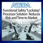 The joint Altera and YOGITECH lockstep solution is built using Altera FPGAs, SoCs, and certified tool flows, along with intellectual property (IP) cores from YOGITECH, a functional safety leader based in Pisa, Italy. This solution enables customers to easily implement SIL3 safety designs in Altera FPGAs, including the low-cost Cyclone(R) V FPGA and MAX(R) 10 FPGA families.