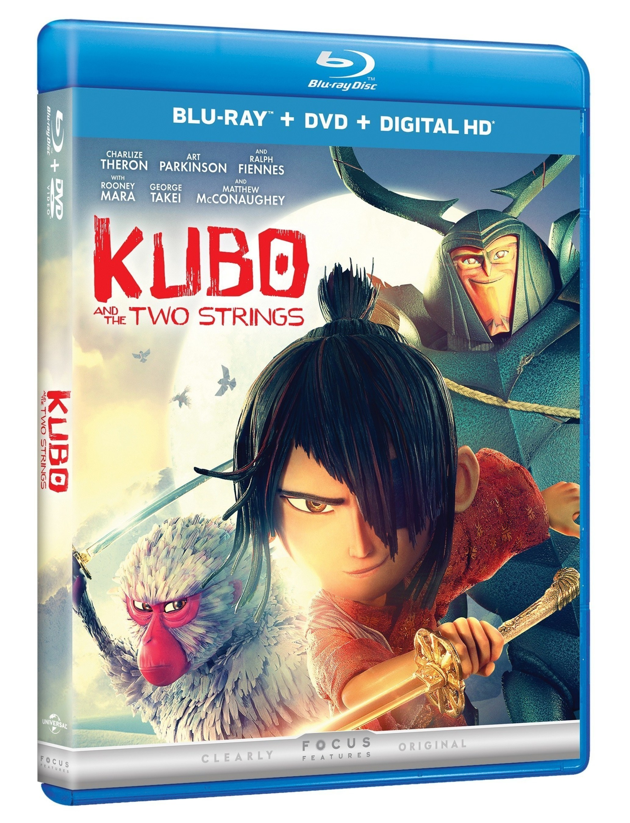 From Universal Pictures Home Entertainment: Kubo And The Two Strings Available On Digital HD November 8, 2016 And On Blu-ray Combo Pack And DVD November 22, 2016