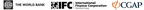 The World Bank, IFC and CGAP logos.  (PRNewsFoto/CGAP)