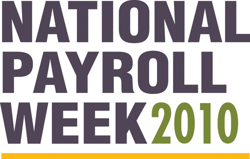 Celebrate payday and the payroll professionals who pay us accurately and on time during National Payroll Week, ...