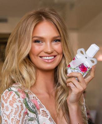 Victoria's Secret Angel, Romee Strijd unveiled Victoria's Secret's latest fragrance, xo, Victoria in New York City