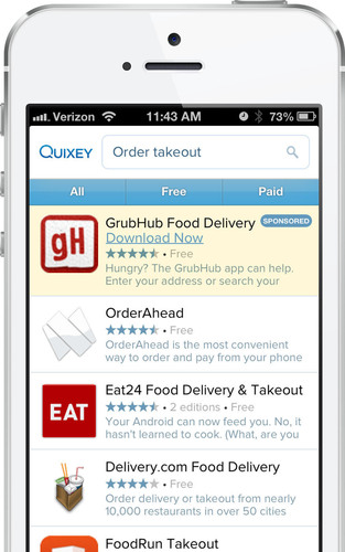Quixey Launches Sponsored Apps Program