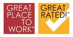 GPTW & Great Rated! Logo (PRNewsFoto/Great Place to Work)