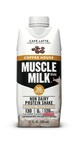 These ready to drink shakes combine high quality protein with enough caffeine as a cup of coffee in three delicious coffee-inspired flavors: Cafe Latte, Vanilla Latte and Mocha Latte.  www.musclemilk.com
