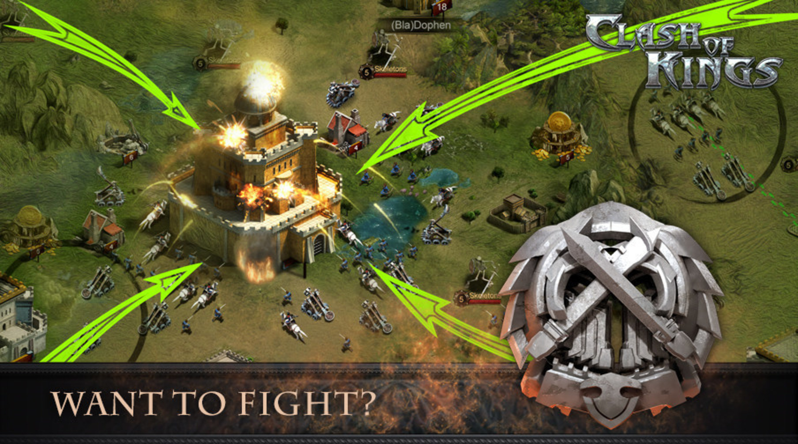 Clash of Kings finally snatches Russian No.1 top grossing spots on App Store and Google Play from both Clash of  ...