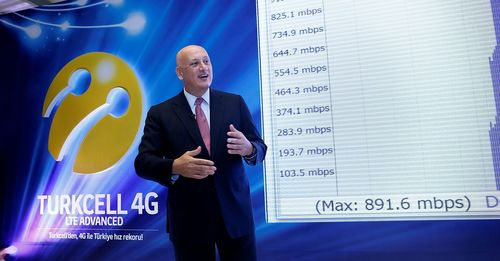 Turkcell Breaks New Ground in Turkey with its 4G Speed of 900 Mbps