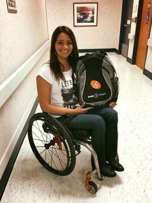 United Spinal Association member, Marcela, is a Peer Mentor.