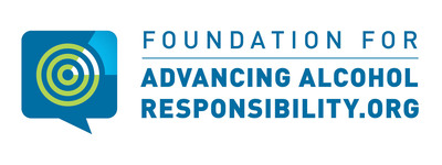 Foundation for Advancing Alcohol Responsibility Logo. (PRNewsFoto/Foundation for Advancing Alcohol Responsibility (Responsibility.org)) (PRNewsFoto/FOUNDATION FOR ADVANCING___)