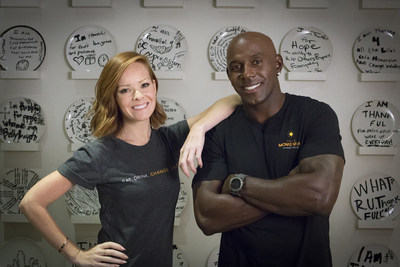 "Emily Wilson and Donald Driver co-host ""The Hero Effect,"" a new inspirational docu-series presented by United Way and produced by Dolphin Entertainment, airing on the Oprah Winfrey Network."