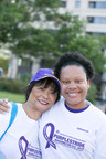 PurpleStride Washington, D.C. 5K timed run and awareness walk on June 13, 2015 at Freedom Plaza