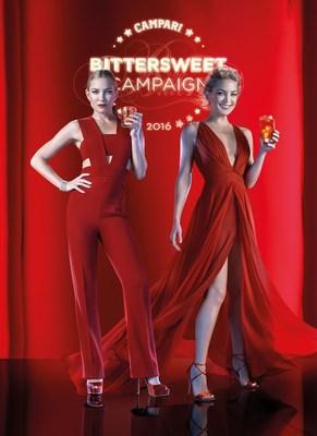 Campari Calendar BTS images by Francesco Pizzo(behind the scenes photographer) (PRNewsFoto/Campari)