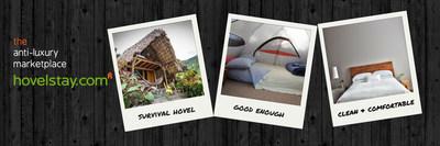 Survival hovel, good enough, clean & comfortable (PRNewsFoto/hovelstay.com)