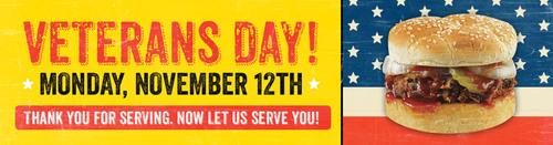 Dickey's Barbecue Celebrates Veteran's Day