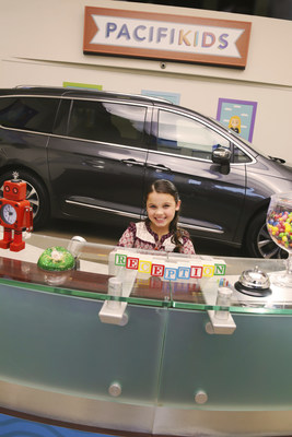 The Chrysler brand's PacifiKids took over Victorville Motors (Calif.) in a hidden camera stunt putting the spotlight on the all-new 2017 Chrysler Pacifica minivan on Wednesday, September 14, 2016.