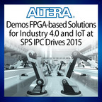 Altera is demonstrating industrial solutions based on its Altera(R) Cyclone(R) V and MAX(R) 10 field-programmable gate arrays (FPGAs) and SoCs at the SPS IPC Drives conference in Nuremberg, Germany, from November 24 to 26, (Hall 3, Stand 270).