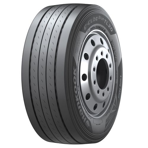 The e-cube Blue TL20 is Hankook's high-end trailer tyre for long-distance transport which is characterised ...