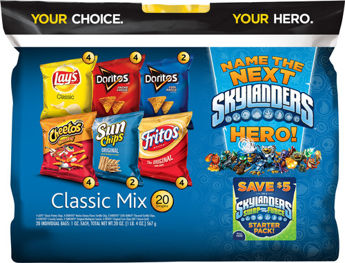 For the first time, Frito-Lay and Activision are providing fans with the unique opportunity to choose and name ...