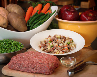 JustFoodForDogs USDA Certified Beef and Russet Potato Recipe