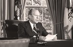 """What can America learn from its past? When Gerald R. Ford took office in 1974, the United States was in turmoil, exhibiting parallels with today's political distrust. Now on May 27, at 9 p.m. ET/PT, the National Geographic Channel will debut """"Gerald R. Ford: A Test of Character."""" Narrated by Jeff Daniels, the film highlights the country's social and political unrest during Ford's presidency and the character of one man with a steadfast ability to build trust on both sides of the aisle, unite a nation, and gain respect from world leaders."""