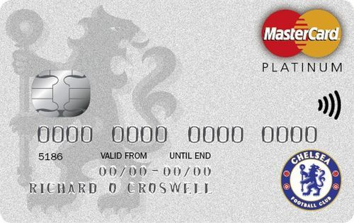 The Chelsea FC credit card from MBNA (PRNewsFoto/MBNA Limited)